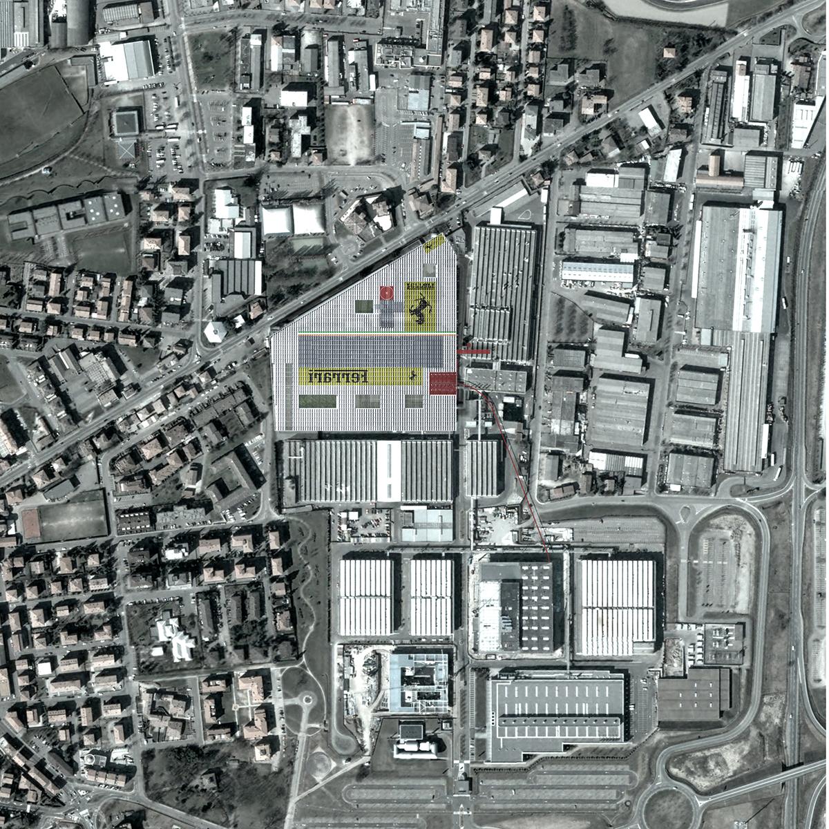Ferrari Factory Ateliers Jean Nouvel