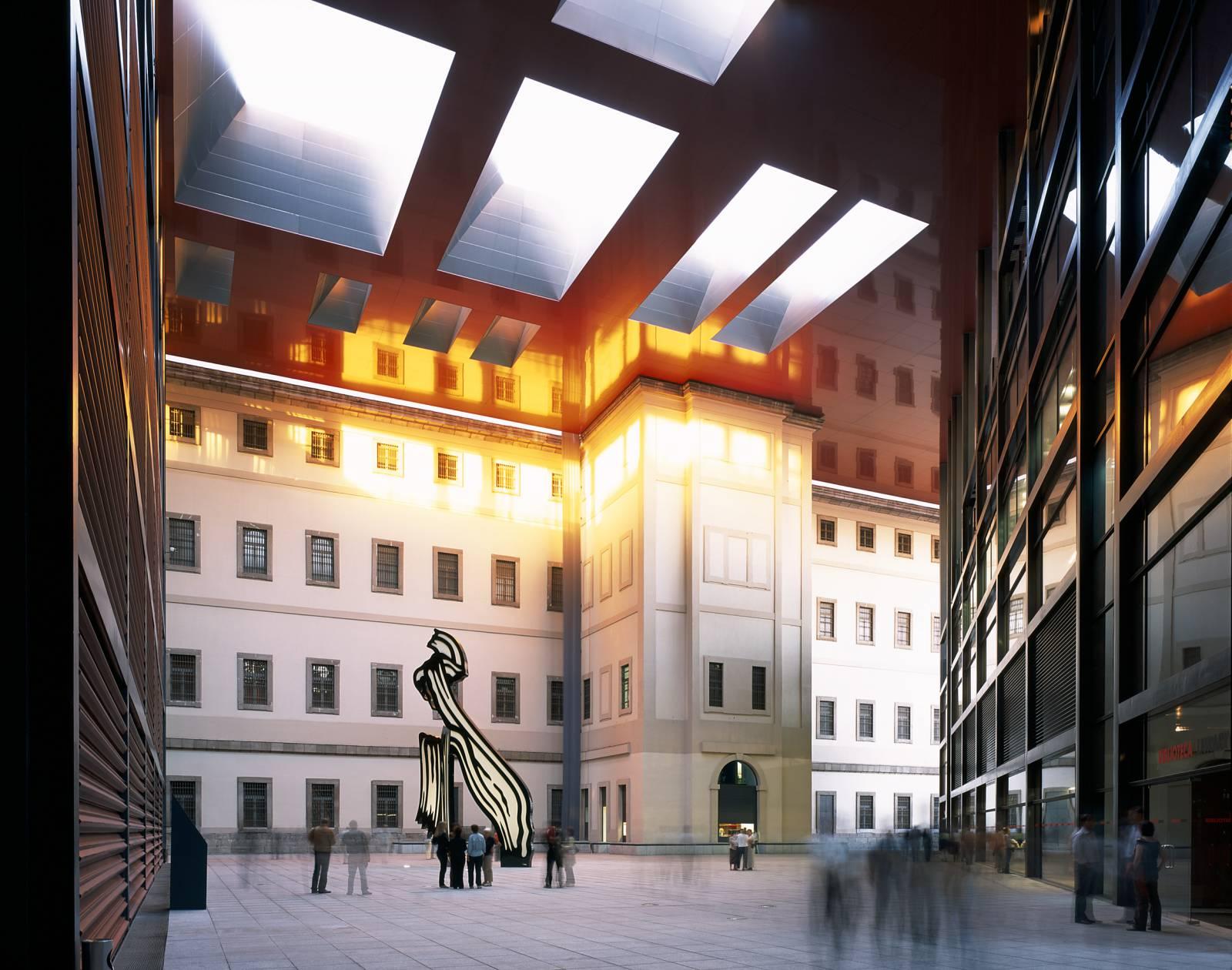 Extending Of The Museo Nacional Centro De Arte Reina Sofia